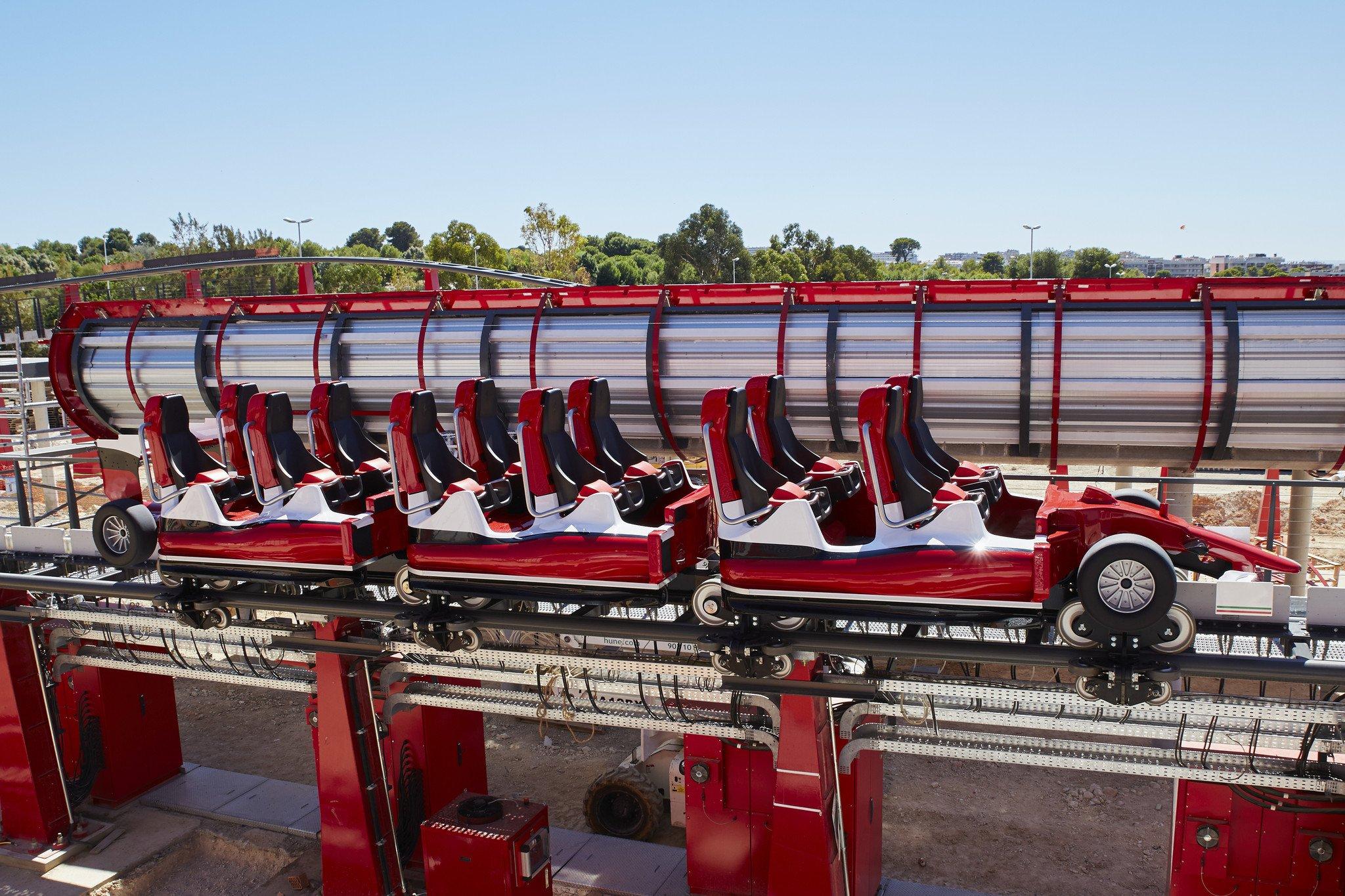 Ferrari Land, la nueva atracción de Port Aventura para los aficionados de la velocidad